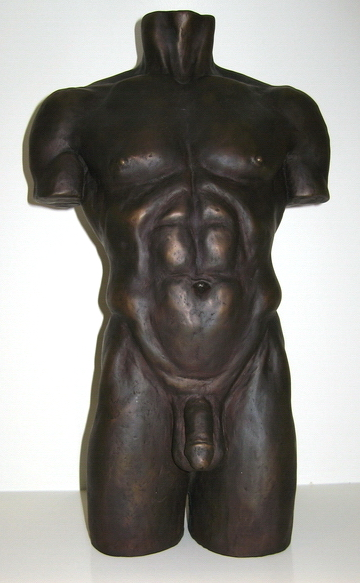 "Torso: 24"" bronze, limited edition of 30"